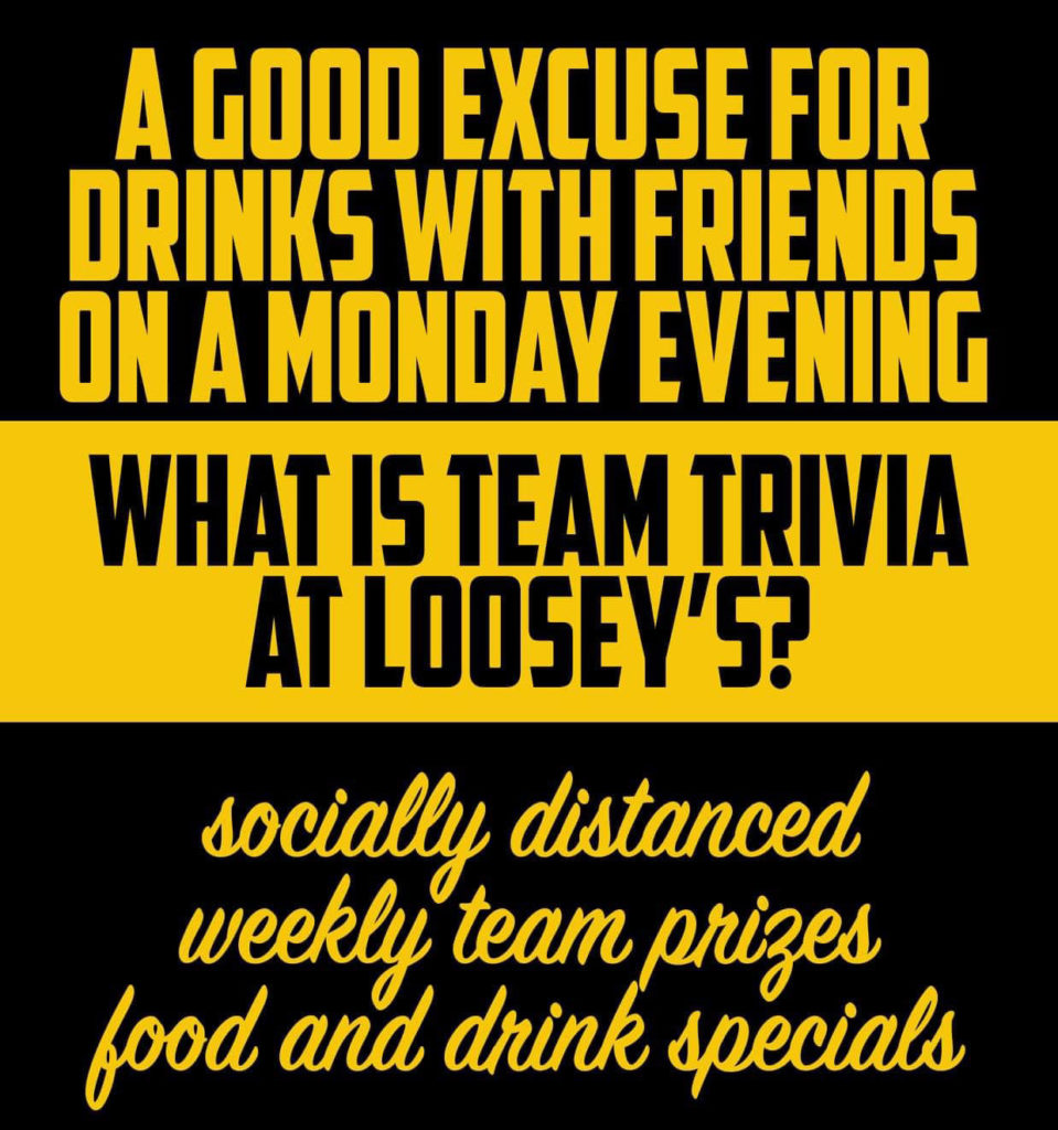 Team Trivia at Loosey's