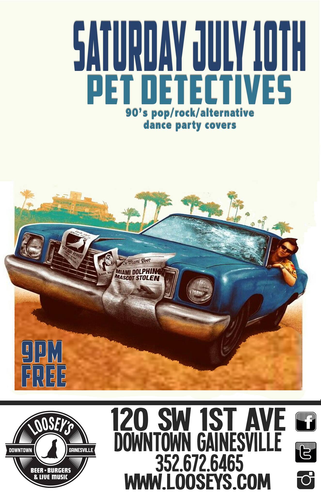 Pet Detective at Looseys, July 10 2021